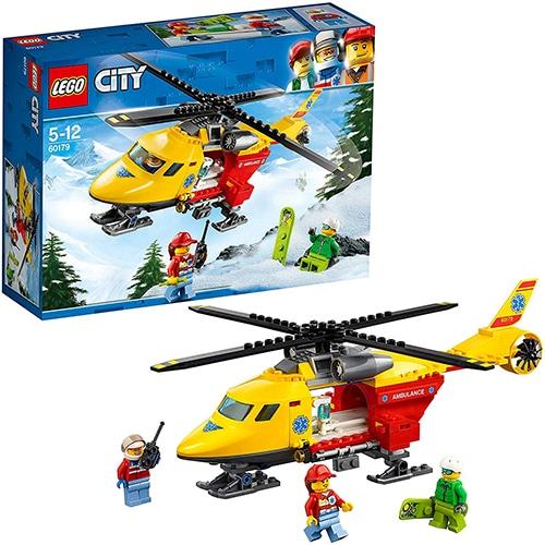 LEGO City 60179 - Reddingshelikopter
