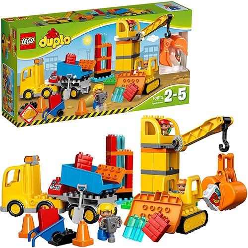 LEGO DUPLO 10813 - Grote bouwplaats