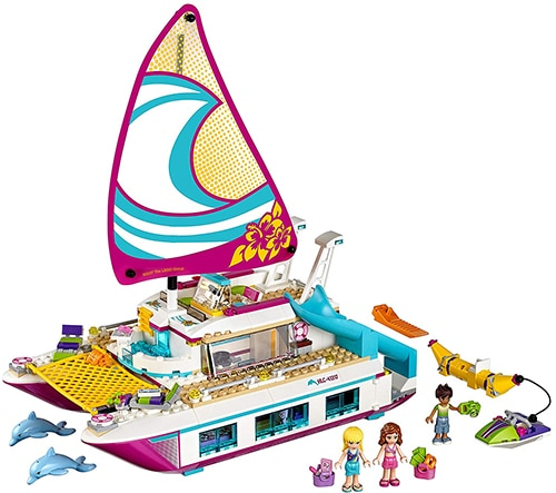 LEGO Friends 41317 - Sunshine Catamaran