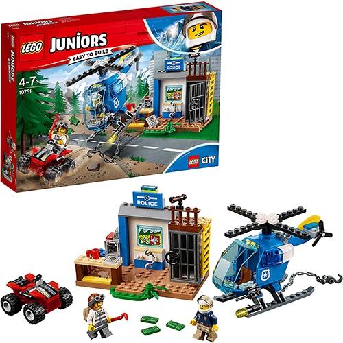 LEGO Juniors 10751 - Politieachtervolging