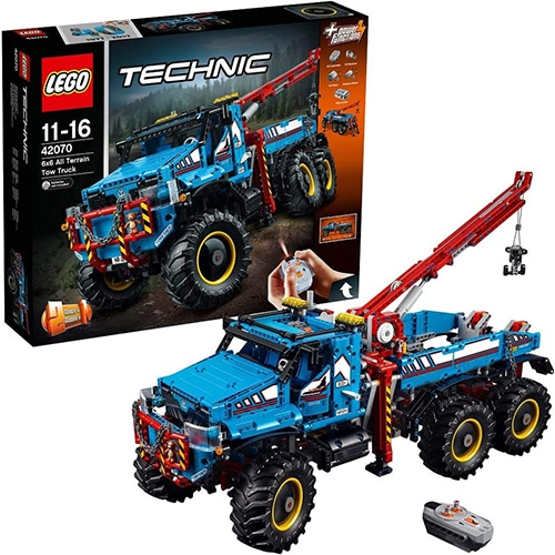 LEGO Technic 42070 - 6x6 allterrain-sleepwagen
