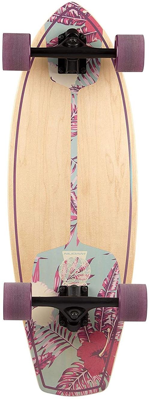 Nijdam longboard Cruiser Kicktail Born to Hula 76 cm