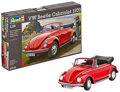 Revell modelbouwdoos VW Beetle Cabriolet 1970