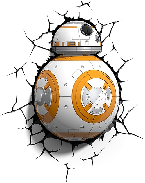 Star Wars BB-8 3D LED wandlicht