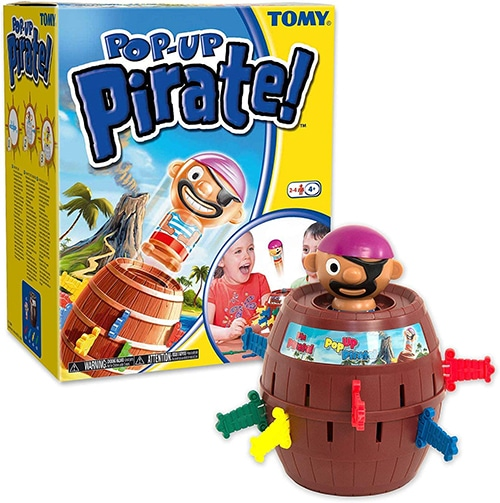 Tomy Pop Up Pirate kinderspel
