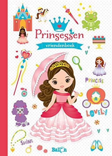 Vriendenboek Prinsessen - hardcover