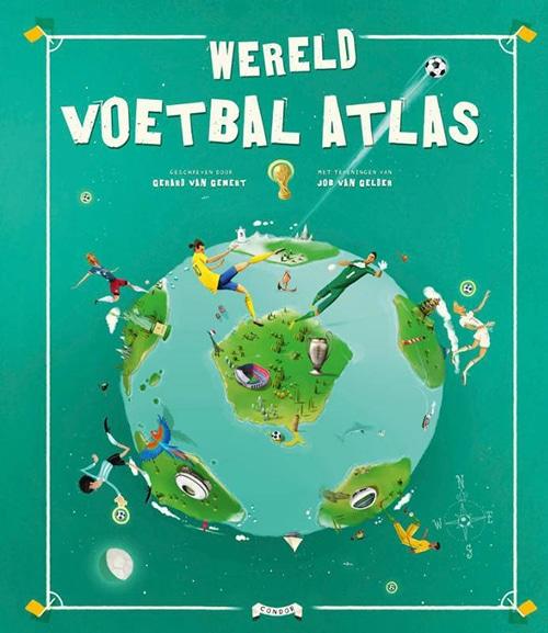 Wereld Voetbal Atlas - hardcover