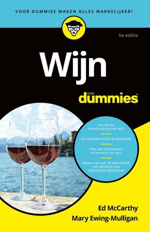 Wijn voor Dummies - paperback