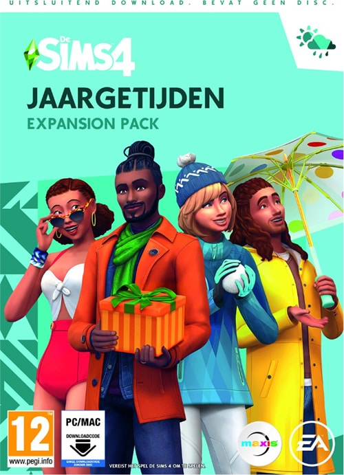 The Sims 4 Jaargetijden - Expansion Pack