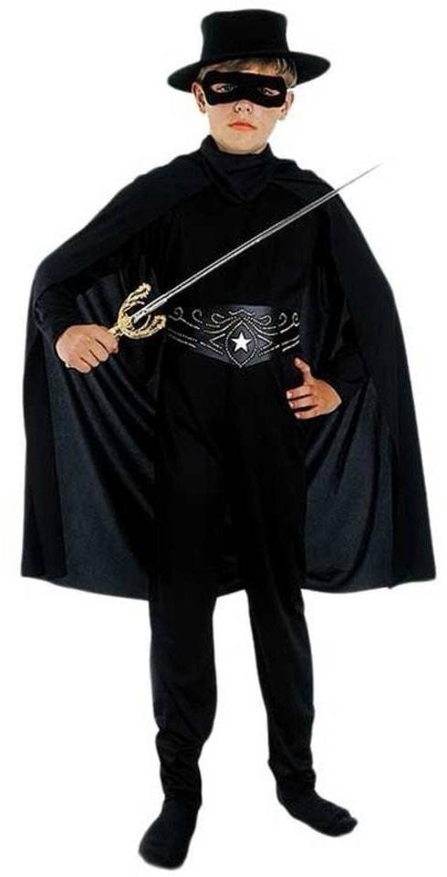 Zorro kostuum voor kinderen