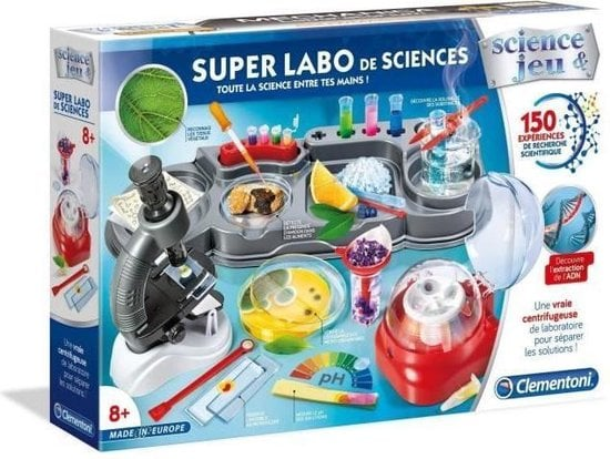 CLEMENTONI Science & Game - Super Science Lab