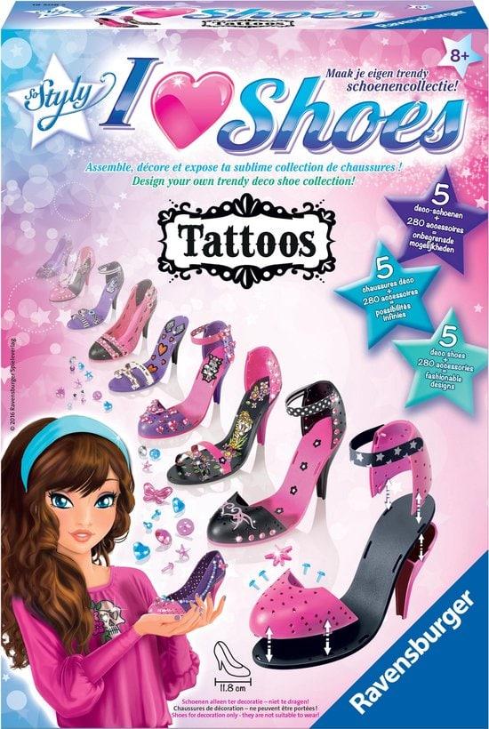 Ravensburger I love shoes Tattoos