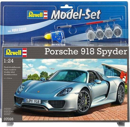 Revell Model Set - Porsche 918 Spyder