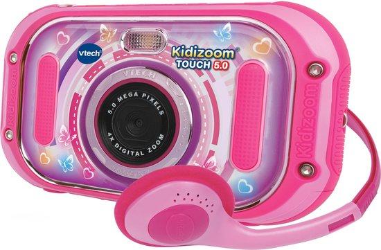 VTech KidiZoom Touch 5.0 Roze - Kindercamera