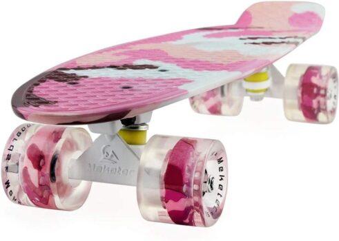 2Cycle Skateboard met LED-wielen