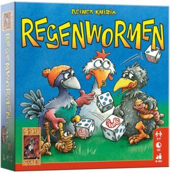 999 Games - Regenwormen Dobbelspel
