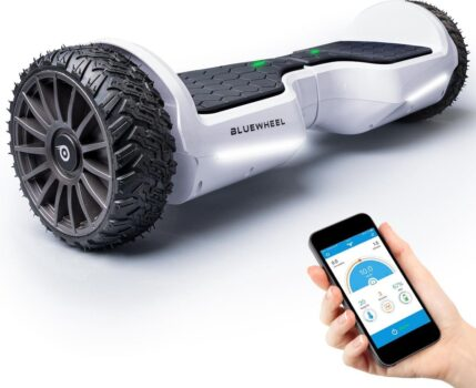 Bluewheel offroad hoverboard wit