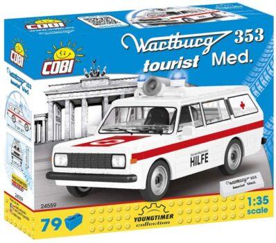 Cobi COB24559 Wartburg 353 Tourist Med.