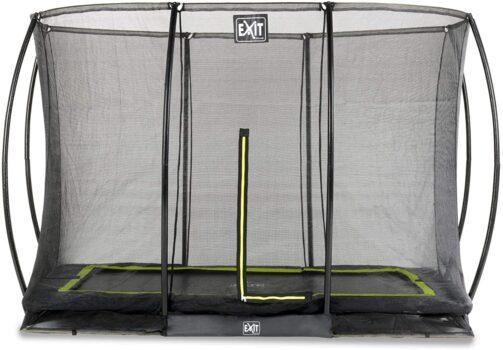 EXIT Silhouette inground trampoline 214x305cm met veiligheidsnet