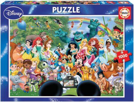 Educa Puzzel - De wondere wereld van Disney II - 1000 stukjes