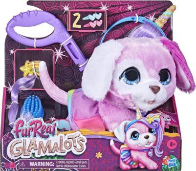 FurReal Glamalots - Interactieve Knuffel Geef dit hondje een nieuwe en glamours look!