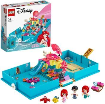 LEGO 43176 Disney Princess Ariëls verhalenboekavonturen