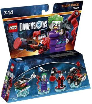 LEGO Dimensions - Team Pack - DC Comics The Joker & Harley Quinn (Multiplatform)
