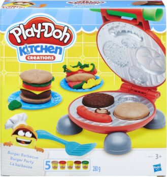 Play-Doh Burger Barbecue klei speelset