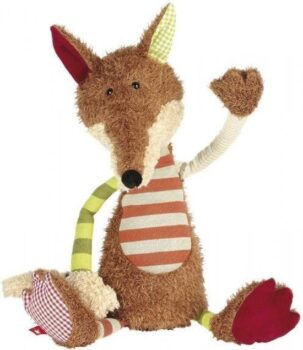 Sigikid Patchwork Fox knuffel