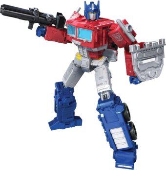 Transformers Generations War for Cybertron Kingdom Leader Optimus Prime PR speelfiguur